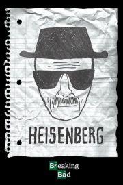 Breaking Bad Heisenberg Wanted - plakat