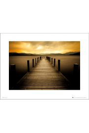 Sunset Pier - art print
