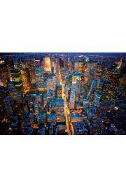 Nowy Jork Miasto Nocą - plakat
