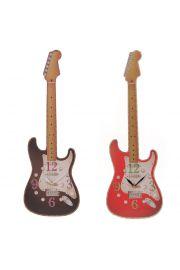 Ted Smith zegar kształt gitary