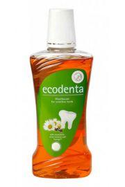 Organiczny Płyn do płukania jamy ustnej dla wrażliwych zębów ECODENTA BIOK Laboratorija