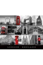 Londyn S�ynne Miejsca - plakat