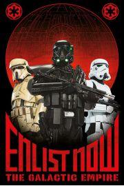 Łotr 1. Gwiezdne wojny Zaciągnij się - plakat