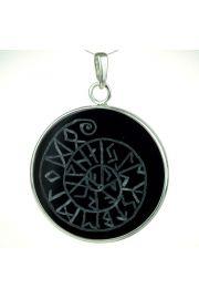 Mandala runiczna na onyksie