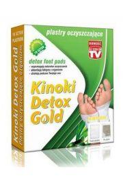 Kinoki Detox Gold - plastry oczyszczające