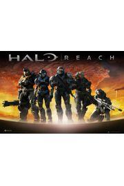 Halo Reach Planeta - plakat