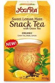 Herbata YOGI TEA Słodka cytrynowa mate z zieloną herbatą