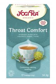 Herbata YOGI TEA Na podrażnione gardło THROAT COMFORT - ekspresowa