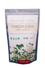 Chia - białe nasiona - 50 g - Szałwia hiszpańska