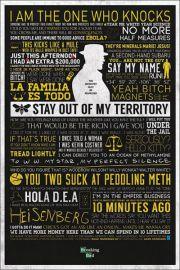 Breaking Bad Najlepsze Teksty - plakat
