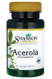 Acerola 500mg 60 kaps. SWANSON
