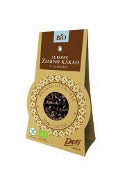 Surowe Ziarno Kakao W Czekoladzie Deserowej Bezglutenowe Bio 50 G - Doti
