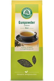 Herbata Zielona Gunpowder Liściasta Bio 100 G - Lebensbaum