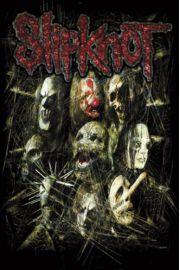 Slipknot Maski - plakat