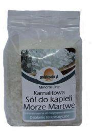 Karnalitowa sól do kąpieli z Morza Martwego, 300g