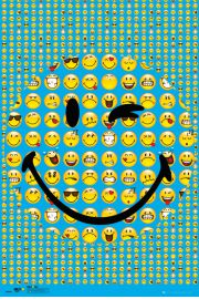 Smiley U�miech - plakat