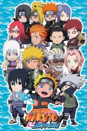 Naruto Shippuden SD Compilation - plakat