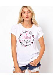 Koszulka damska, rozmiar S - Fajna mama Wzór 1