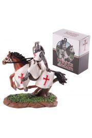 Rycerz na koniu z mieczem