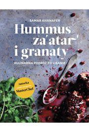 Hummus za'atar I granaty kulinarna podróż po libanie