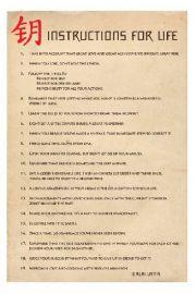 Buddyzm - Instrukcja Życia - Dalai Lama - plakat motywacyjny