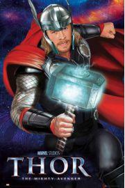 Thor Mroczny Świat - Młot - plakat