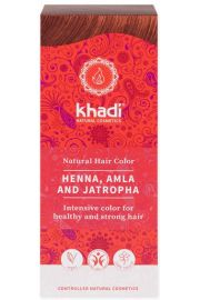 Henna Khadi Naturalna z Aml� i Jatroph�