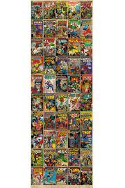 Marvel Okładki Komiksów - retro plakat