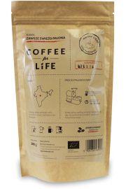 Kawa 100% Arabica Ziarnista Indie Bio 200 G - Ale Eko Cafe