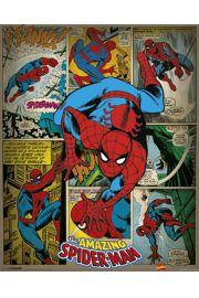 Marvel Comics - Spiderman Retro - plakat