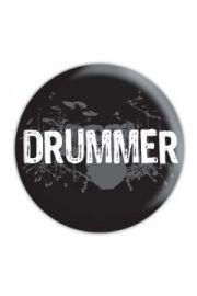 DRUMMER - przypinka