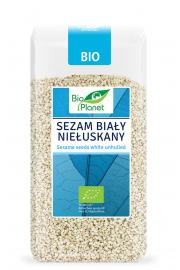 Sezam Biały Niełuskany Bio 250 G - Bio Planet
