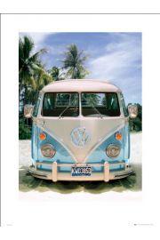 VW CALIFORNIAN CAMPER Plaża - reprodukcja