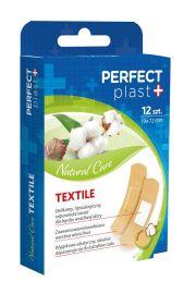 Plastry Z Opatrunkiem Wyciąg Z Bawełny 12 Szt - Perfect Plast