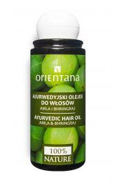 Orientana, Ajurwedyjski Olejek do włosów AMLA i BHRINGRAJ, 105ml