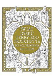 Świat Dysku Terry'ego Pratchetta do kolorowania