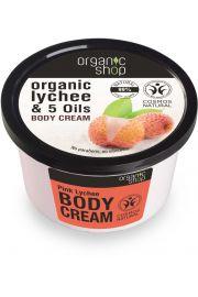 Krem Do Ciała Różowe Liczi 250 Ml - Organic Shop