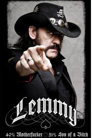 Lemmy 49% Mofo - Motorhead - plakat