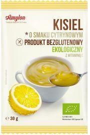 Kisiel O Smaku Cytrynowym Bezglutenowy Bio 30 G - Amylon