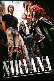 Nirvana Zespół - plakat