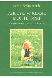 Dziecko w klasie Montessori
