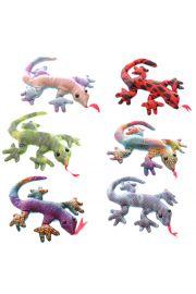 Zabawka gekon wypełniona piaskiem