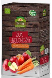 Sok Marchwiowo Jabłkowy Bio 3 L - Farma Świętokrzyska