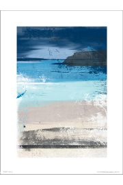 Abstract Beach - art print