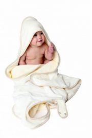 Cuddledry Baby Ręcznik Fartuch Gingham - LIMITED EDITION ORGANIC