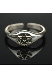 Pierścień z pentagramem nr 16-18
