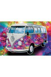 Volkswagen Camper Miłość - plakat
