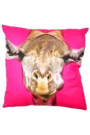 Poduszka z wypełnieniem 50 x 50cm Żyrafa