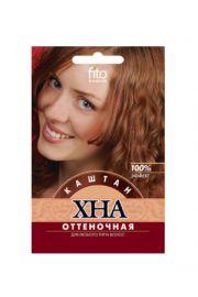 Henna koloryzująca do włosów – kasztan FIT Fitocosmetic