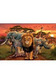 Afryka - Królestwo Zwierząt - plakat